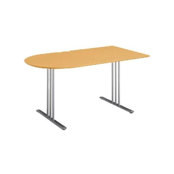 コクヨ(KOKUYO) ミーティングテーブル 長U形 ATTESA(アテーザ) W1500×D800×H700mm LT-211YP16N [会議用テーブル 会議テーブル 会議用デスク 会議デスク 休憩室 食堂 オフィス用 会議室 ワーキングテーブル 作業テーブル 作業机 テーブル]