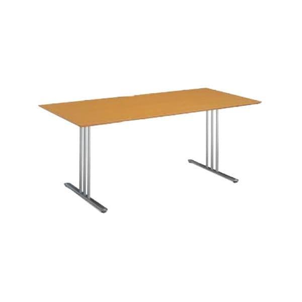 コクヨ(KOKUYO) ミーティングテーブル 長方形 ATTESA(アテーザ) W1800×D800×H700mm LT-212YKN [会議用テーブル 会議テーブル 会議用デスク 会議デスク 休憩室 食堂 オフィス用 会議室 ワーキングテーブル 作業テーブル 作業机 テーブル]