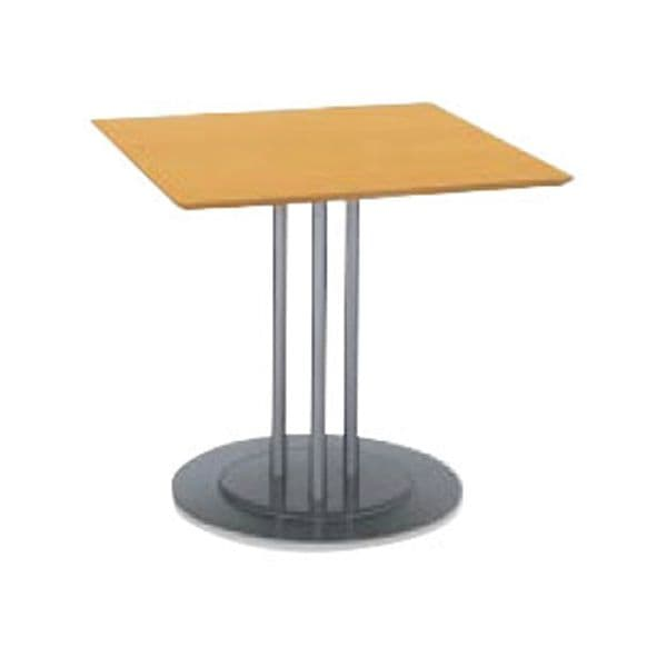 コクヨ(KOKUYO) ミーティングテーブル 正方形 ATTESA(アテーザ) W800×D800×H700mm LT-214YP16 [会議用テーブル 会議テーブル 会議用デスク 会議デスク 休憩室 食堂 オフィス用 会議室 ワーキングテーブル 作業テーブル 作業机 テーブル]