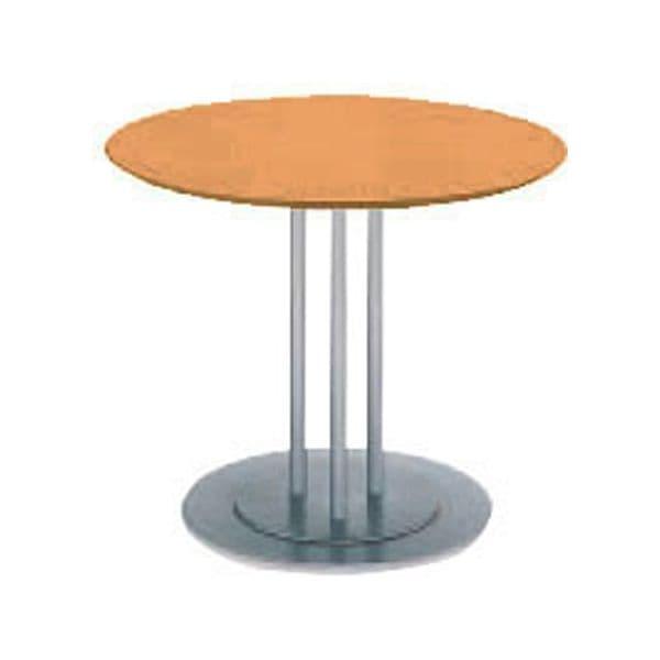 コクヨ(KOKUYO) ミーティングテーブル 円形 ATTESA(アテーザ) Φ900×D900×H700mm LT-216YKN [会議用テーブル 会議テーブル 会議用デスク 会議デスク 休憩室 食堂 オフィス用 会議室 ワーキングテーブル 作業テーブル 作業机 テーブル]