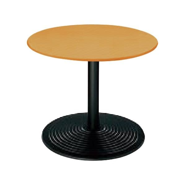 コクヨ(KOKUYO) ミーティングテーブル 円形 単柱テーブル Φ750×D750×H600mm RT-A170K [会議用テーブル 会議テーブル 会議用デスク 会議デスク 休憩室 食堂 オフィス用 会議室 ワーキングテーブル 作業テーブル 作業机 テーブル]