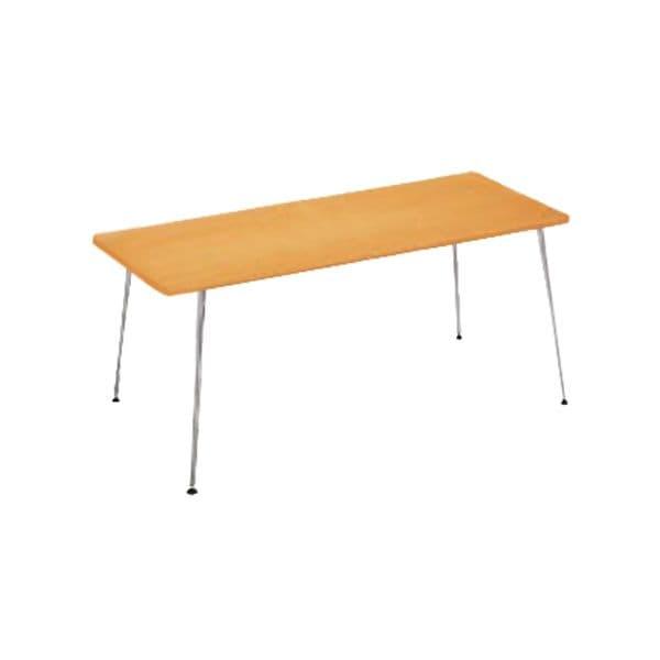 コクヨ(KOKUYO) ミーティングテーブル 長方形 EAT IN(イートイン) D800×H700mm LT-M342T72 [会議用テーブル 会議テーブル 会議用デスク 会議デスク 休憩室 食堂 オフィス用 会議室 ワーキングテーブル 作業テーブル 作業机 テーブル]