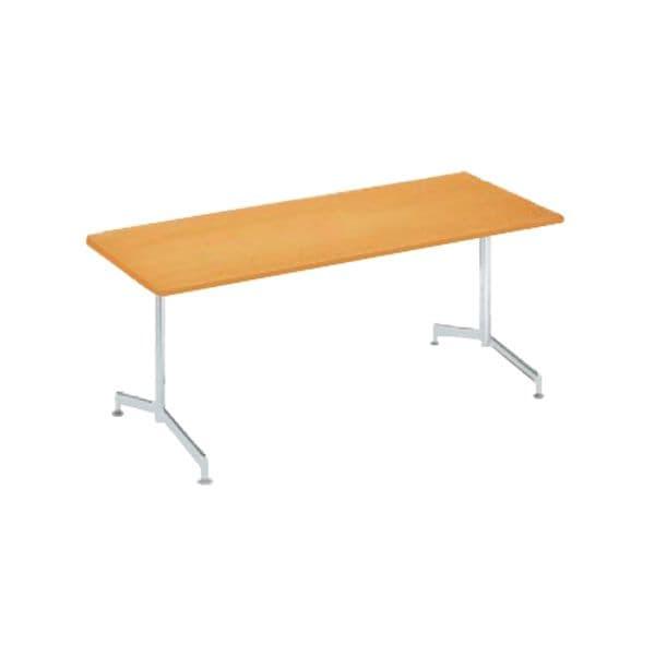 コクヨ(KOKUYO) ミーティングテーブル 長方形 EAT IN(イートイン) D800×H700mm LT-M412T72 [会議用テーブル 会議テーブル 会議用デスク 会議デスク 休憩室 食堂 オフィス用 会議室 ワーキングテーブル 作業テーブル 作業机 テーブル]