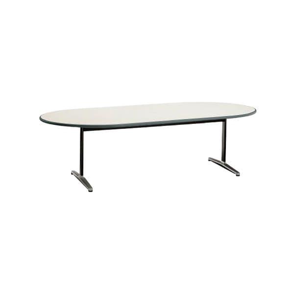 コクヨ(KOKUYO) 楕円形テーブル MT-110シリーズ W2400×D1200×H700mm MT-115F1NN [ワーキングテーブル ワークテーブル テーブル ミーティングテーブル 楕円形 オフィス家具 会議テーブル 会議用テーブル 会議机]