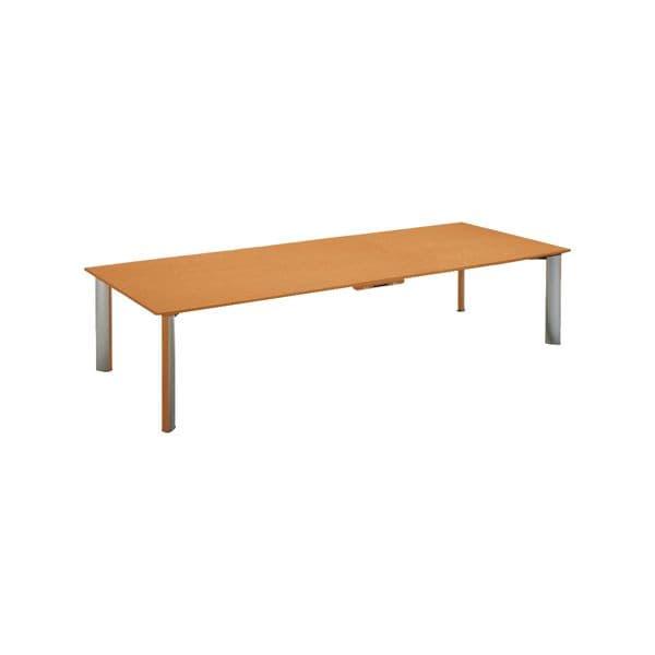 コクヨ(KOKUYO) 長方形 WT-150シリーズ W2400×D1200×H700mm WT-W151W03N【別途 組立費必須】 [ワーキングテーブル ワークテーブル テーブル ミーティングテーブル 長方形 オフィス家具 会議テーブル 会議用テーブル 会議机]