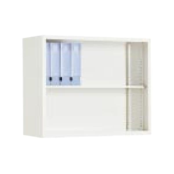 コクヨ(KOKUYO) 収納家具 キャビネット A4サイズ対応保管庫 W880×D400×H730mm S-KU320F1 [書庫 スチール書庫 スチール製 キャビネット 収納家具 壁面収納 壁面家具 オープンタイプ オープン書庫 本棚 オフィス家具 オフィス用 オフィス用品 オフィス収納]