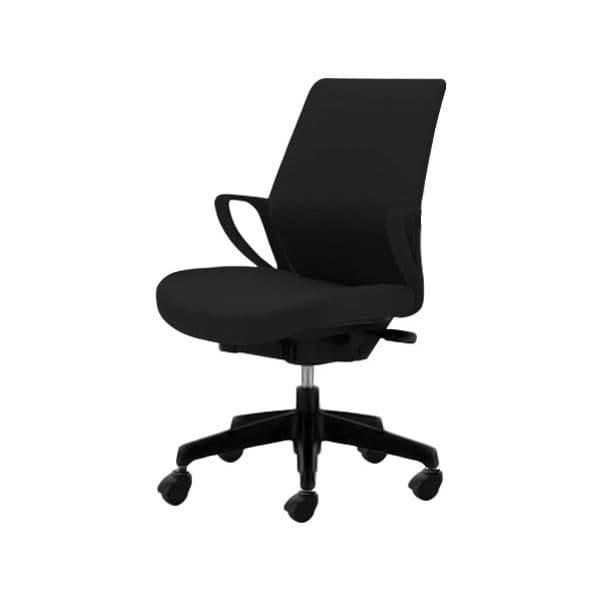 コクヨ(KOKUYO) オフィスチェア ミドルバック picora(ピコラ) CR-G530E6-V [事務用チェア オフィス用品 オフィス用 オフィス家具 チェア 椅子 イス 事務椅子 デスクチェア パソコンチェア スタンダード 高機能 PICORA ピコラ]