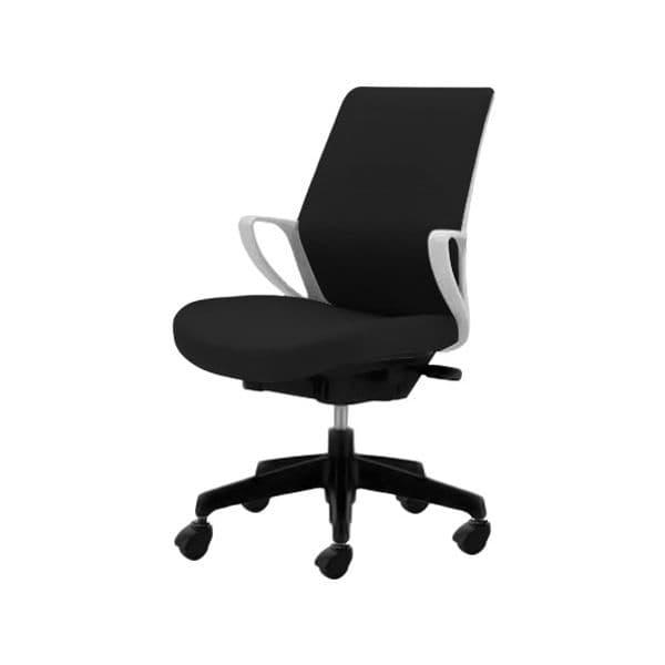 コクヨ(KOKUYO) オフィスチェア ミドルバック picora(ピコラ) CR-G530E1-V [事務用チェア オフィス用品 オフィス用 オフィス家具 チェア 椅子 イス 事務椅子 デスクチェア パソコンチェア スタンダード 高機能 PICORA ピコラ]