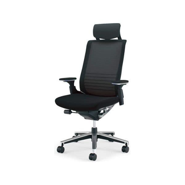 コクヨ(KOKUYO) オフィスチェアエクストラハイバック INSPINE(インスパイン)ナイロンキャスター CR-GA2515E6-W [事務用チェア オフィス家具 チェア 椅子 イス 事務椅子 デスクチェア パソコンチェア 高機能 INSPINE インスパイン]