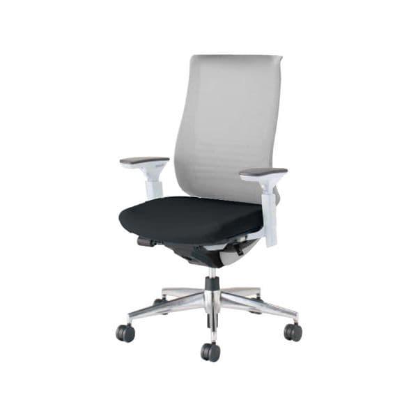 コクヨ(KOKUYO) オフィスチェア ハイバック Bezel(ベゼル) CR-A2833E1C-V [事務用チェア オフィス用品 オフィス用 オフィス家具 チェア 椅子 イス 事務椅子 デスクチェア パソコンチェア スタンダード 高機能 BEZEL ベゼル]