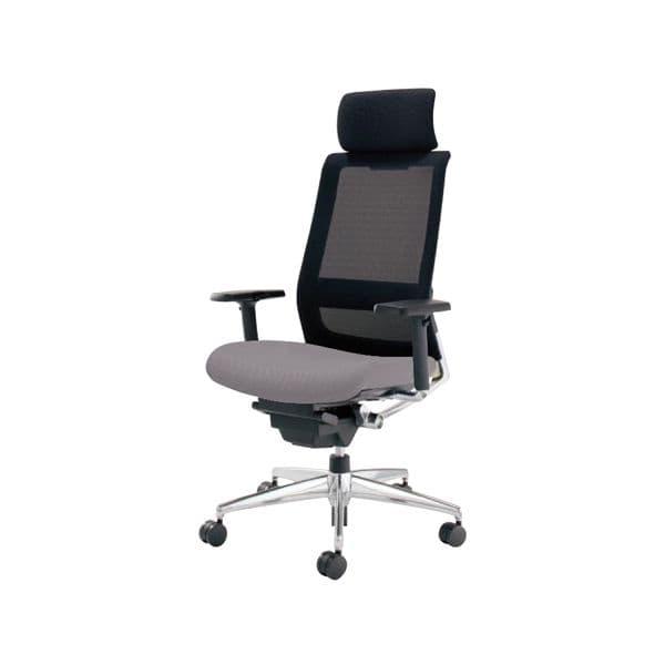 コクヨ(KOKUYO) オフィスチェア エクストラハイバック AIRFORT(エアフォート) CR-GA2353-V [事務用チェア オフィス用品 オフィス用 オフィス家具 チェア 椅子 イス 事務椅子 デスクチェア パソコンチェア スタンダード 高機能]
