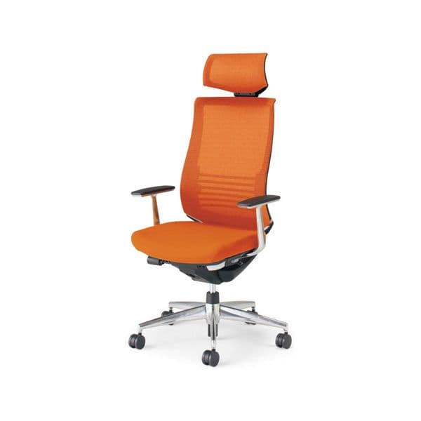 コクヨ(KOKUYO) オフィスチェア エクストラハイバック Bezel(ベゼル) CR-A2865E6 [事務用チェア オフィス用品 オフィス用 オフィス家具 チェア 椅子 イス 事務椅子 デスクチェア パソコンチェア スタンダード 高機能 BEZEL ベゼル]