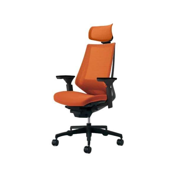 コクヨ(KOKUYO) オフィスチェア エクストラハイバック Duora(デュオラ) ポリウレタン巻きキャスター CR-G3035E6-V [事務用チェア オフィス家具 チェア 椅子 イス 事務椅子 デスクチェア パソコンチェア スタンダード 高機能 DUORA デュオラ]