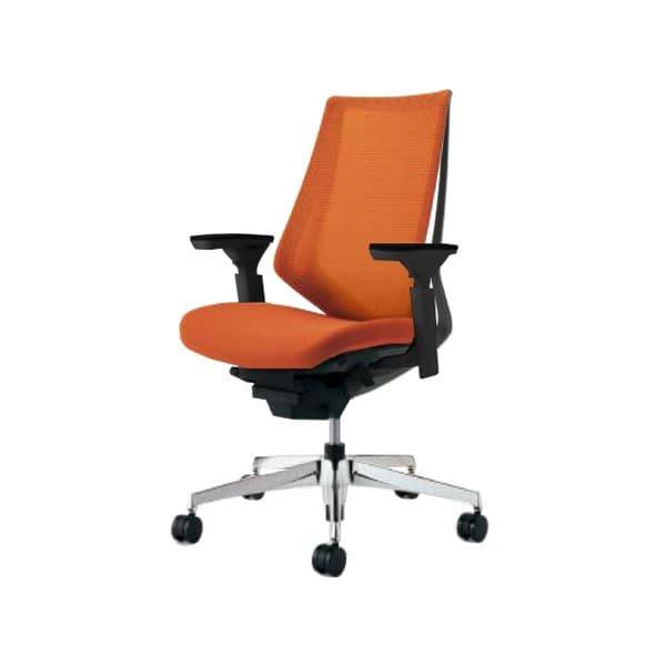 コクヨ(KOKUYO) オフィスチェア ハイバック Duora(デュオラ) ナイロンキャスター CR-GA3011E6-W [事務用チェア オフィス家具 チェア 椅子 イス 事務椅子 デスクチェア パソコンチェア スタンダード 高機能 DUORA デュオラ]