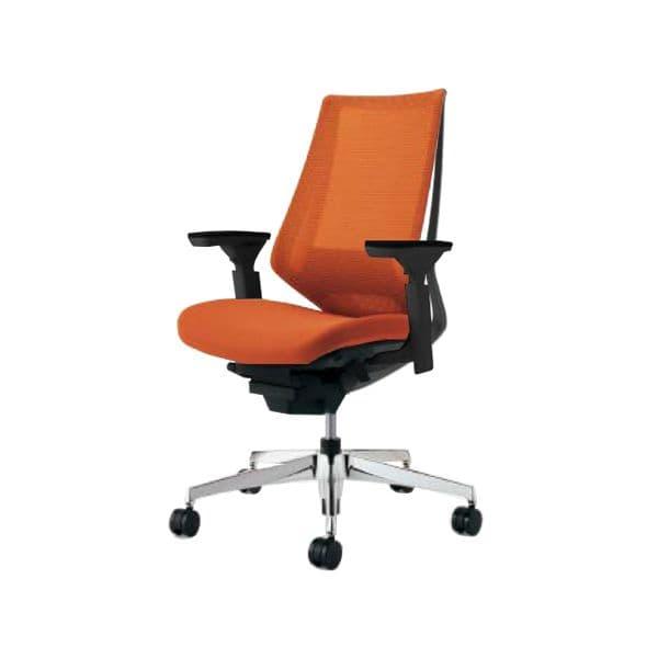 コクヨ(KOKUYO) オフィスチェア ハイバック Duora(デュオラ) ナイロンキャスター CR-GA3031E6-W [事務用チェア オフィス家具 チェア 椅子 イス 事務椅子 デスクチェア パソコンチェア スタンダード 高機能 DUORA デュオラ]