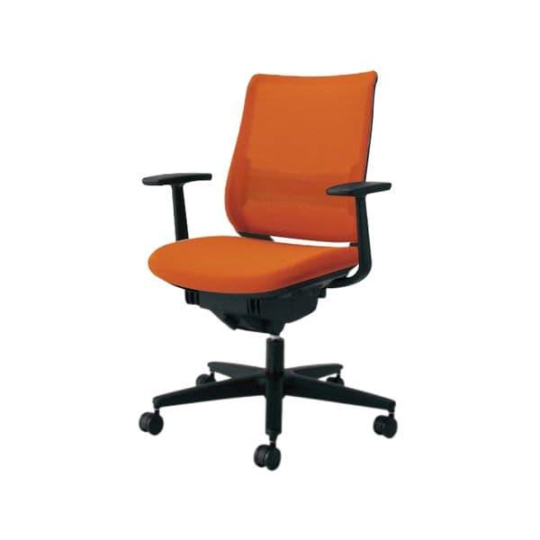 コクヨ(KOKUYO) オフィスチェア ミドルバック Mitra(ミトラ) CR-G2921E6-W [事務用チェア オフィス用品 オフィス用 オフィス家具 チェア 椅子 イス 事務椅子 デスクチェア パソコンチェア スタンダード 高機能 MITRA ミトラ]