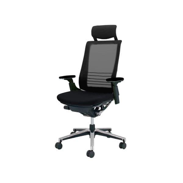 コクヨ(KOKUYO) オフィスチェアエクストラハイバック INSPINE(インスパイン)ポリウレタン巻きキャスター CR-GA2515E6-V [事務用チェア オフィス家具 チェア 椅子 イス 事務椅子 デスクチェア パソコンチェア 高機能 INSPINE インスパイン]