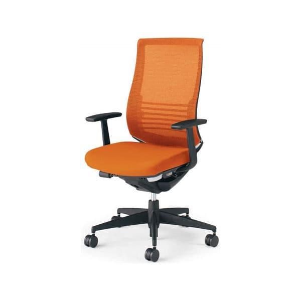 コクヨ(KOKUYO) オフィスチェア ハイバック Bezel(ベゼル) CR-2823E6 [事務用チェア オフィス用品 オフィス用 オフィス家具 チェア 椅子 イス 事務椅子 デスクチェア パソコンチェア スタンダード 高機能 BEZEL ベゼル]