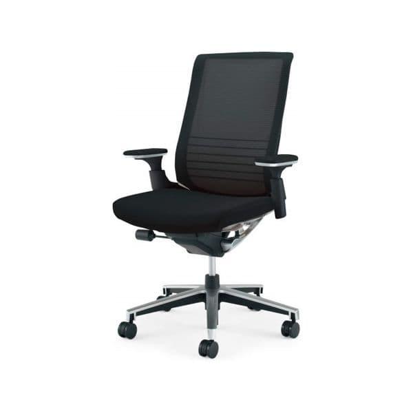 コクヨ(KOKUYO) オフィスチェアハイバック INSPINE(インスパイン) ナイロンキャスターCR-GA2513E6-W [事務用チェア オフィス家具 チェア 椅子 イス 事務椅子 デスクチェア パソコンチェア 高機能 INSPINE インスパイン]