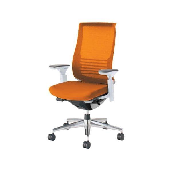 コクヨ(KOKUYO) オフィスチェア ハイバック Bezel(ベゼル) CR-A2833E6-V [事務用チェア オフィス用品 オフィス用 オフィス家具 チェア 椅子 イス 事務椅子 デスクチェア パソコンチェア スタンダード 高機能 BEZEL ベゼル]
