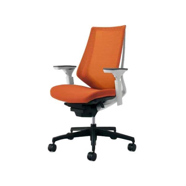 コクヨ(KOKUYO) オフィスチェア ハイバック Duora(デュオラ) ナイロンキャスター CR-G3011E1-W [事務用チェア オフィス家具 チェア 椅子 イス 事務椅子 デスクチェア パソコンチェア スタンダード 高機能 DUORA デュオラ]