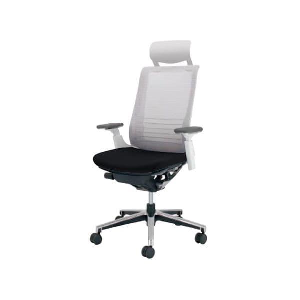 コクヨ(KOKUYO) オフィスチェアエクストラハイバック INSPINE(インスパイン)ポリウレタン巻きキャスター CR-GA2515E1-V [事務用チェア オフィス家具 チェア 椅子 イス 事務椅子 デスクチェア パソコンチェア 高機能 INSPINE インスパイン]