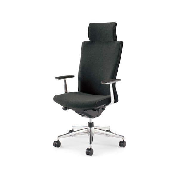 コクヨ(KOKUYO) オフィスチェア エクストラハイバック PUNTO(プント) CR-GA2445F6GN [事務用チェア オフィス用品 オフィス用 オフィス家具 チェア 椅子 イス 事務椅子 デスクチェア パソコンチェア スタンダード 高機能 PUNTO プント]