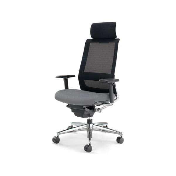 コクヨ(KOKUYO) オフィスチェア エクストラハイバック AIRFORT(エアフォート) CR-GA2353 [事務用チェア オフィス用品 オフィス用 オフィス家具 チェア 椅子 イス 事務椅子 デスクチェア パソコンチェア スタンダード 高機能]
