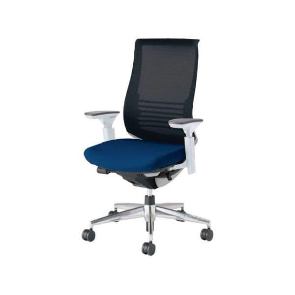 コクヨ(KOKUYO) オフィスチェア ハイバック Bezel(ベゼル) CR-A2833E6C-V [事務用チェア オフィス用品 オフィス用 オフィス家具 チェア 椅子 イス 事務椅子 デスクチェア パソコンチェア スタンダード 高機能 BEZEL ベゼル]
