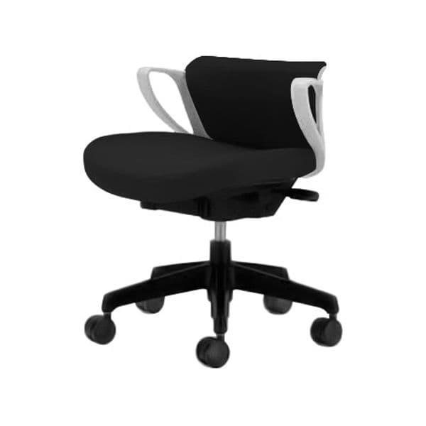 コクヨ(KOKUYO) オフィスチェア ローバック picora(ピコラ) CR-G534E1-W [事務用チェア オフィス用品 オフィス用 オフィス家具 チェア 椅子 イス 事務椅子 デスクチェア パソコンチェア スタンダード 高機能 PICORA ピコラ]