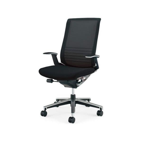 コクヨ(KOKUYO) オフィスチェアハイバック INSPINE(インスパイン) ナイロンキャスターCR-GA2503E6-W [事務用チェア オフィス家具 チェア 椅子 イス 事務椅子 デスクチェア パソコンチェア 高機能 INSPINE インスパイン]