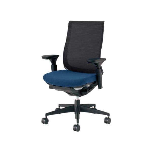 コクヨ(KOKUYO) オフィスチェア ハイバック Bezel(ベゼル) CR-2811E6C-V [事務用チェア オフィス用品 オフィス用 オフィス家具 チェア 椅子 イス 事務椅子 デスクチェア パソコンチェア スタンダード 高機能 BEZEL ベゼル]