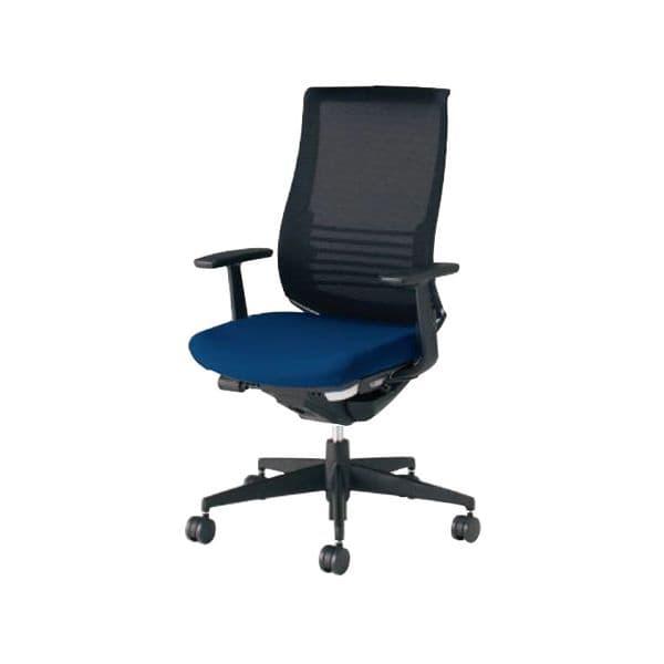 コクヨ(KOKUYO) オフィスチェア ハイバック Bezel(ベゼル) CR-2823E6C-V [事務用チェア オフィス用品 オフィス用 オフィス家具 チェア 椅子 イス 事務椅子 デスクチェア パソコンチェア スタンダード 高機能 BEZEL ベゼル]