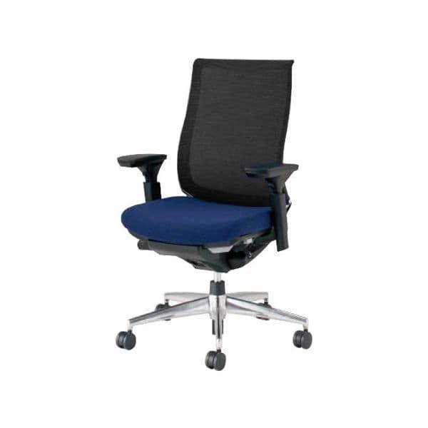 コクヨ(KOKUYO) オフィスチェア ハイバック Bezel(ベゼル) CR-A2811E6C-V [事務用チェア オフィス用品 オフィス用 オフィス家具 チェア 椅子 イス 事務椅子 デスクチェア パソコンチェア スタンダード 高機能 BEZEL ベゼル]