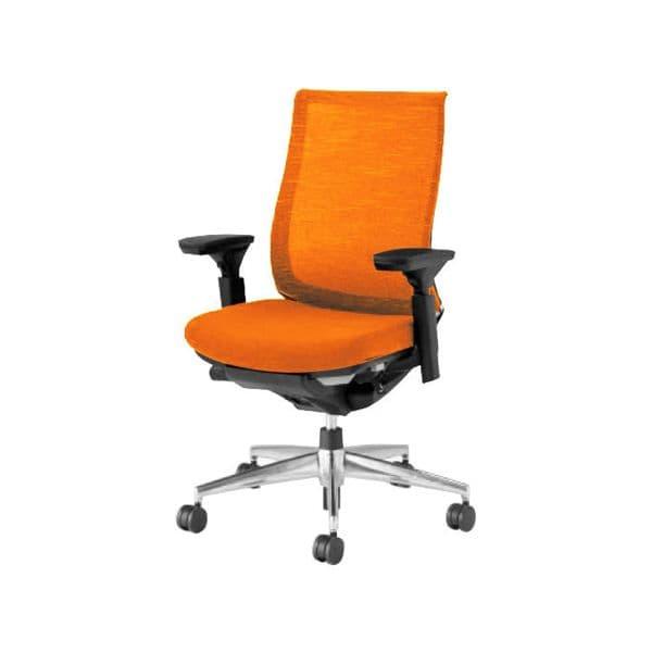 コクヨ(KOKUYO) オフィスチェア ハイバック Bezel(ベゼル) CR-A2811E6-V_02 [事務用チェア オフィス用品 オフィス用 オフィス家具 チェア 椅子 イス 事務椅子 デスクチェア パソコンチェア スタンダード 高機能 BEZEL ベゼル]