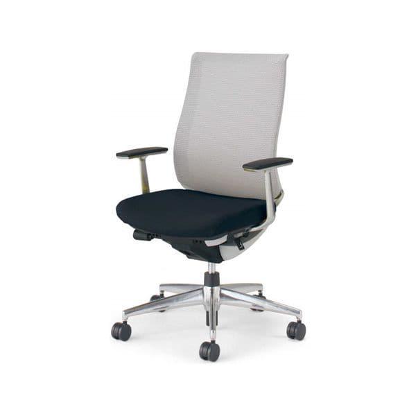 コクヨ(KOKUYO) オフィスチェア ハイバック Bezel(ベゼル) CR-A2841E1C [事務用チェア オフィス用品 オフィス用 オフィス家具 チェア 椅子 イス 事務椅子 デスクチェア パソコンチェア スタンダード 高機能 BEZEL ベゼル]