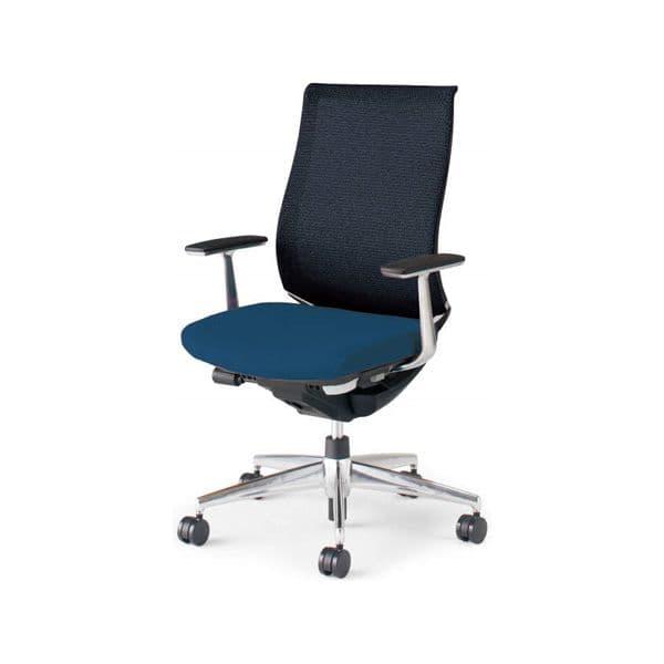 コクヨ(KOKUYO) オフィスチェア ハイバック Bezel(ベゼル) CR-A2841E6C [事務用チェア オフィス用品 オフィス用 オフィス家具 チェア 椅子 イス 事務椅子 デスクチェア パソコンチェア スタンダード 高機能 BEZEL ベゼル]