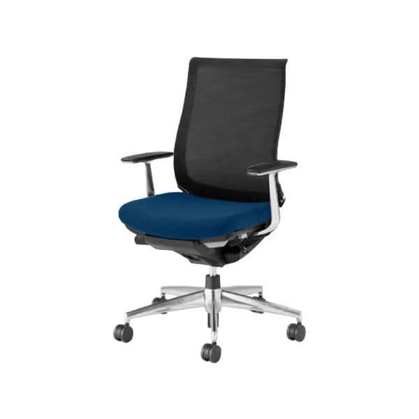 コクヨ(KOKUYO) オフィスチェア ハイバック Bezel(ベゼル) CR-A2841E6C-V [事務用チェア オフィス用品 オフィス用 オフィス家具 チェア 椅子 イス 事務椅子 デスクチェア パソコンチェア スタンダード 高機能 BEZEL ベゼル]