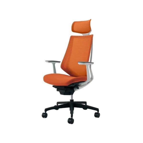 コクヨ(KOKUYO) オフィスチェア エクストラハイバック Duora(デュオラ) ポリウレタン巻きキャスター CR-G3005E1-V [事務用チェア オフィス家具 チェア 椅子 イス 事務椅子 デスクチェア パソコンチェア スタンダード 高機能 DUORA デュオラ]