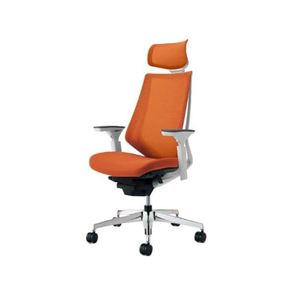 コクヨ(KOKUYO) オフィスチェア エクストラハイバック Duora(デュオラ) ナイロンキャスター CR-GA3015E1-W [事務用チェア オフィス家具 チェア 椅子 イス 事務椅子 デスクチェア パソコンチェア スタンダード 高機能 DUORA デュオラ]