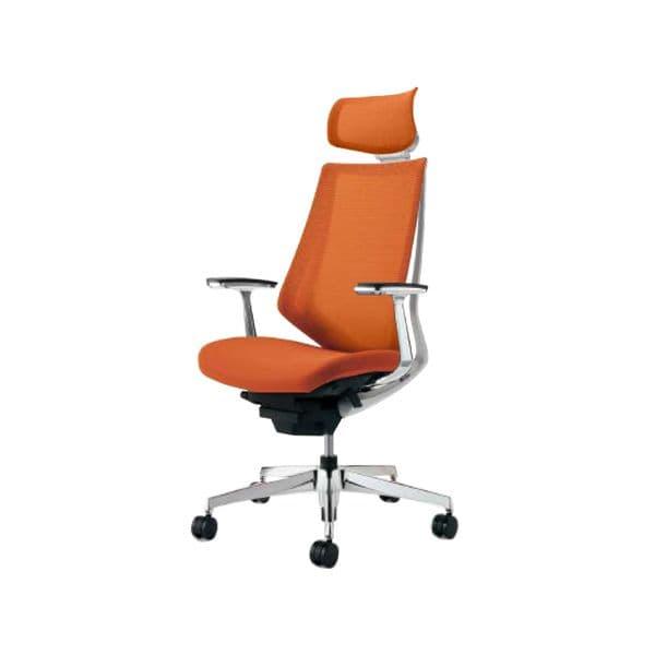 コクヨ(KOKUYO) オフィスチェア エクストラハイバック Duora(デュオラ) ナイロンキャスター CR-GA3045E1-W [事務用チェア オフィス家具 チェア 椅子 イス 事務椅子 デスクチェア パソコンチェア スタンダード 高機能 DUORA デュオラ]
