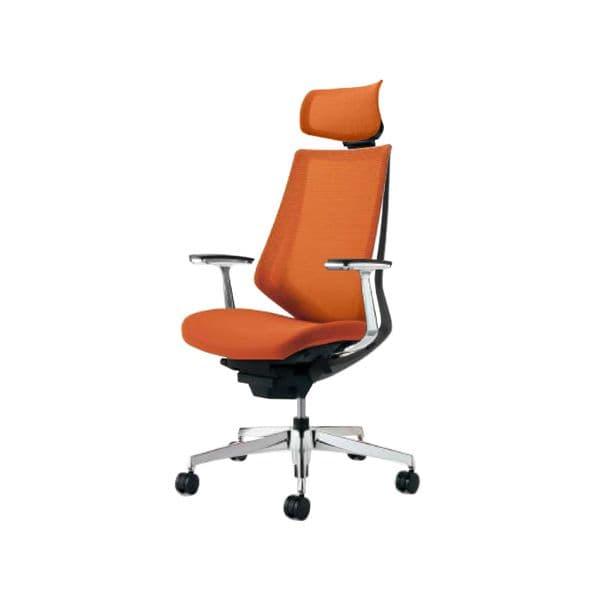 コクヨ(KOKUYO) オフィスチェア エクストラハイバック Duora(デュオラ) ナイロンキャスター CR-GA3045E6-W [事務用チェア オフィス家具 チェア 椅子 イス 事務椅子 デスクチェア パソコンチェア スタンダード 高機能 DUORA デュオラ]