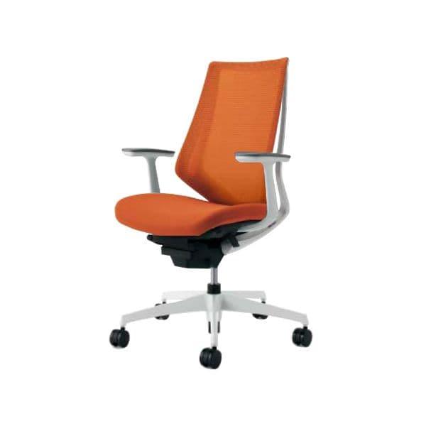 コクヨ(KOKUYO) オフィスチェア ハイバック Duora(デュオラ) ナイロンキャスター CR-GW3001E1-W [事務用チェア オフィス家具 チェア 椅子 イス 事務椅子 デスクチェア パソコンチェア スタンダード 高機能 DUORA デュオラ]