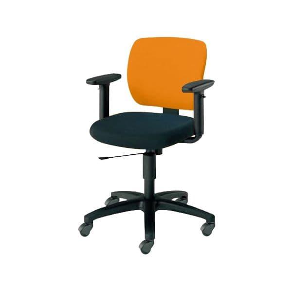 コクヨ(KOKUYO) オフィスチェア ローバック EAZA(イーザ) CR-G193F6C-V [事務用チェア オフィス用品 オフィス用 オフィス家具 チェア 椅子 イス 事務椅子 デスクチェア パソコンチェア スタンダード 高機能 EAZA イーザ]