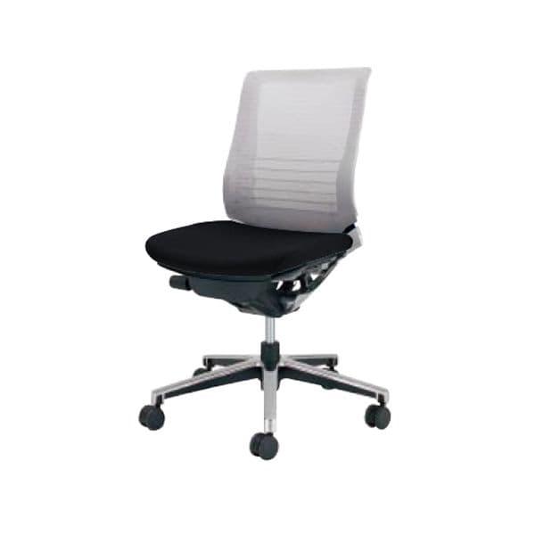 コクヨ(KOKUYO) オフィスチェアローバック INSPINE(インスパイン)ポリウレタン巻きキャスター CR-GA2500E1-V [事務用チェア オフィス家具 チェア 椅子 イス 事務椅子 デスクチェア パソコンチェア 高機能 INSPINE インスパイン]