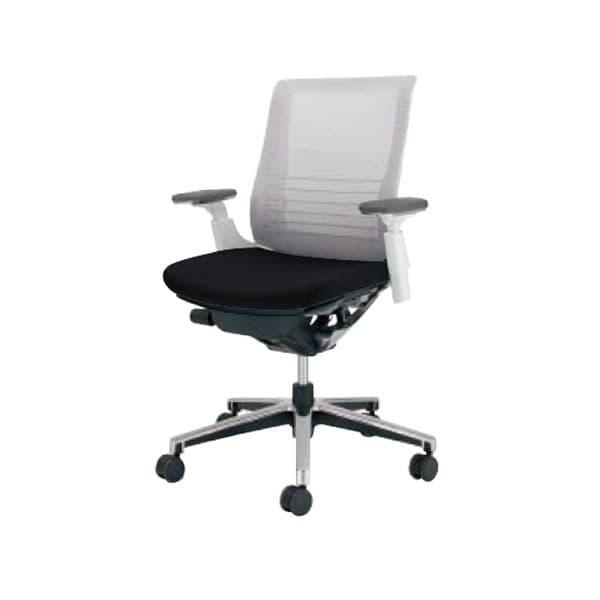 コクヨ(KOKUYO) オフィスチェアローバック INSPINE(インスパイン)ポリウレタン巻きキャスター CR-GA2511E1-V [事務用チェア オフィス家具 チェア 椅子 イス 事務椅子 デスクチェア パソコンチェア 高機能 INSPINE インスパイン]