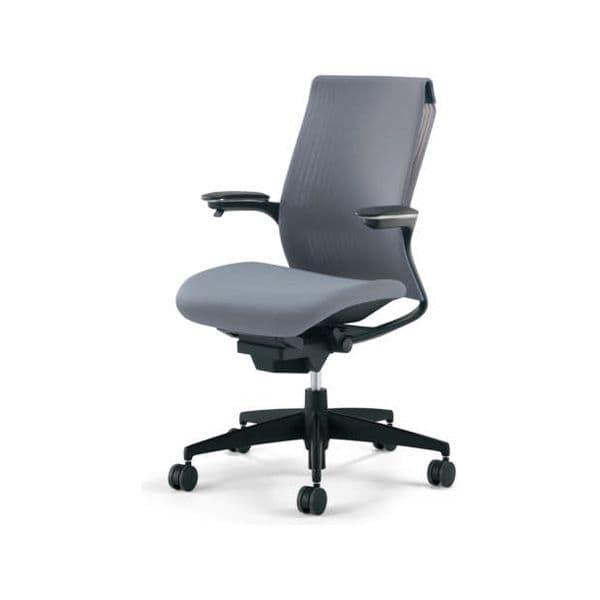 どんな空間にも誰にでも、最適で快適にフィットする次世代スタンダードチェアー コクヨ(KOKUYO) オフィスチェア M4(エムフォー)ハイバック 可動肘 ブラックシェル 樹脂脚 ナイロンキャスター CR-G2211F6B-W[ いす 事務用チェア チェア 椅子 イス 事務椅子 デスクチェア パソコンチェア スタンダード 高機能 ]