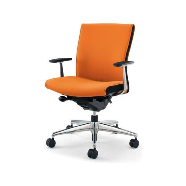 コクヨ(KOKUYO) オフィスチェア ローバック PUNTO(プント) CR-GA2441F6GM [事務用チェア オフィス用品 オフィス用 オフィス家具 チェア 椅子 イス 事務椅子 デスクチェア パソコンチェア スタンダード 高機能 PUNTO プント]