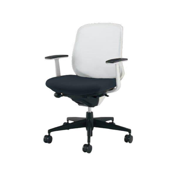 コクヨ(KOKUYO) オフィスチェア ローバック Scirocco(シロッコ) CR-G2601E1C-V [事務用チェア オフィス用品 オフィス用 オフィス家具 チェア 椅子 イス 事務椅子 デスクチェア パソコンチェア スタンダード 高機能 SCIROCCO シロッコ]