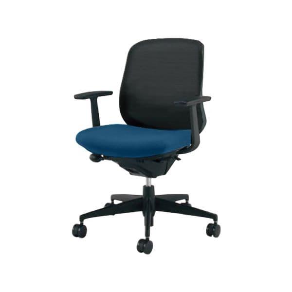 コクヨ(KOKUYO) オフィスチェア ローバック Scirocco(シロッコ) CR-G2601F6C-V [事務用チェア オフィス用品 オフィス用 オフィス家具 チェア 椅子 イス 事務椅子 デスクチェア パソコンチェア スタンダード 高機能 SCIROCCO シロッコ]